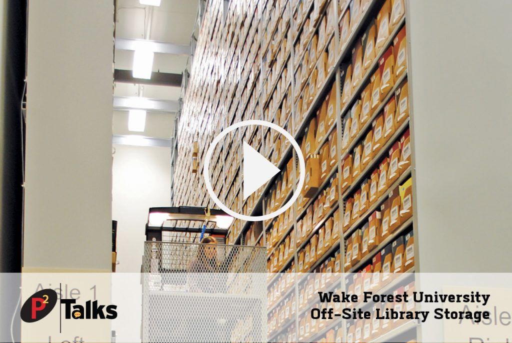 Wake Forest University - Off-Site Library Storage