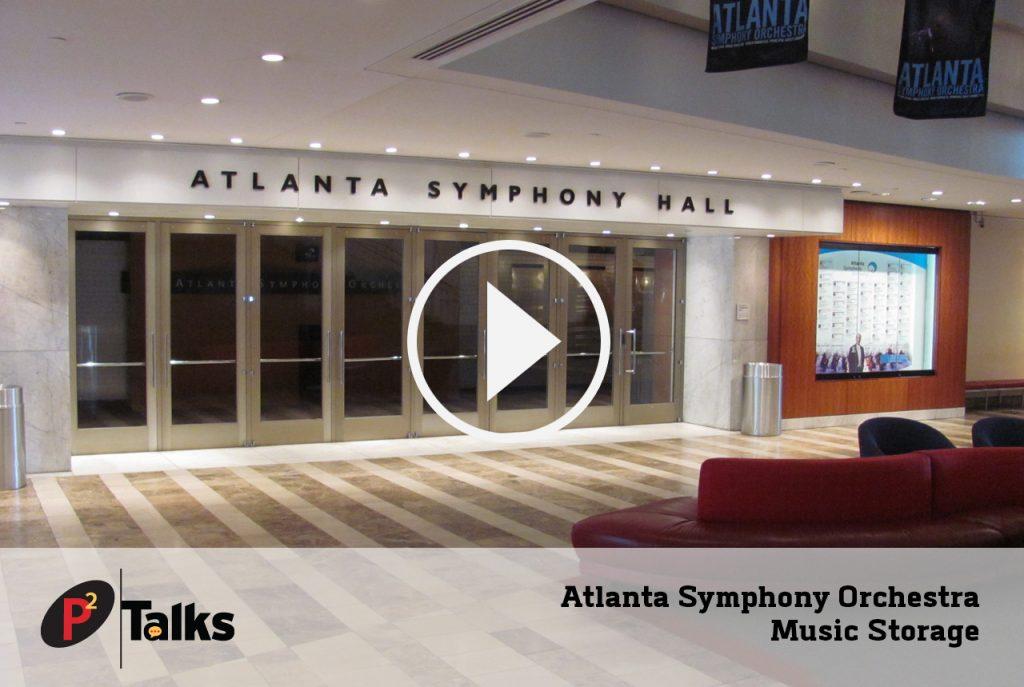Atlanta Symphony Orchestra Music Storage