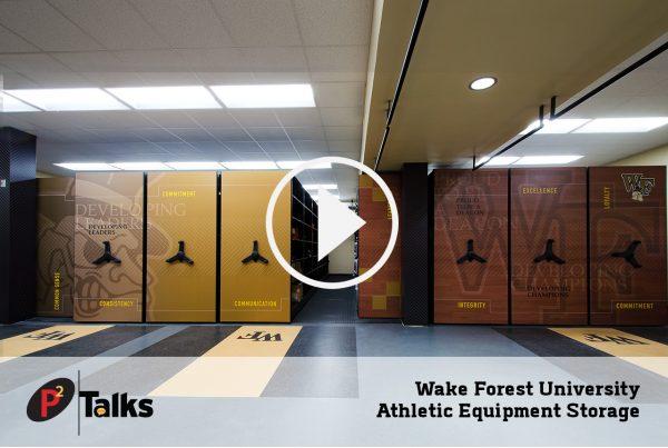 Weake Forest University Athletic Equipment Storage