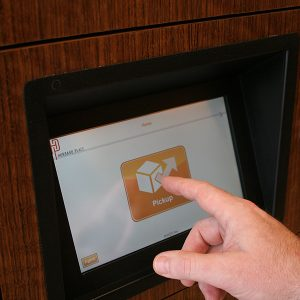 Touchscreen for Smart Lockers Control