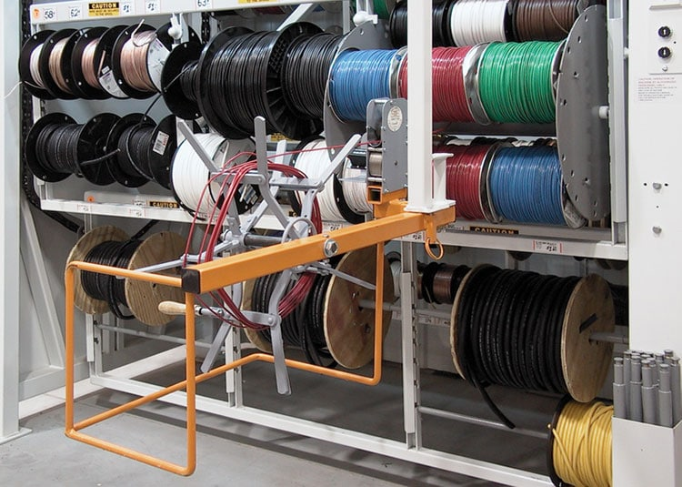 Excellent Wire Spool Storage Systems Images - Electrical Circuit ...