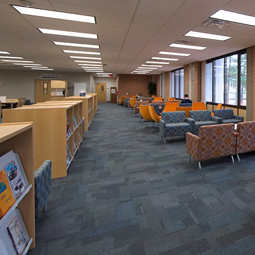 Clayton State University Library interior