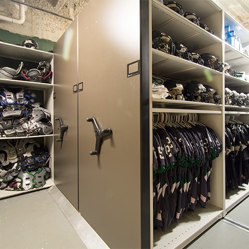 Kennesaw Mountain High School Football Storage