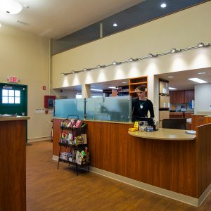 Pharmacy Refit with Laminate Cabinets