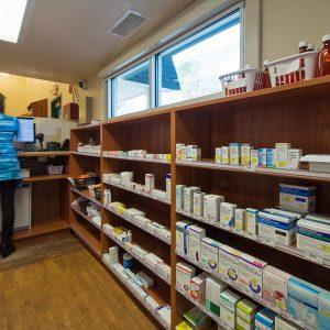 Modular Casework for Pharmacy Counter