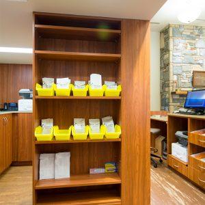 Laminate Cabinets for Prescription Storage