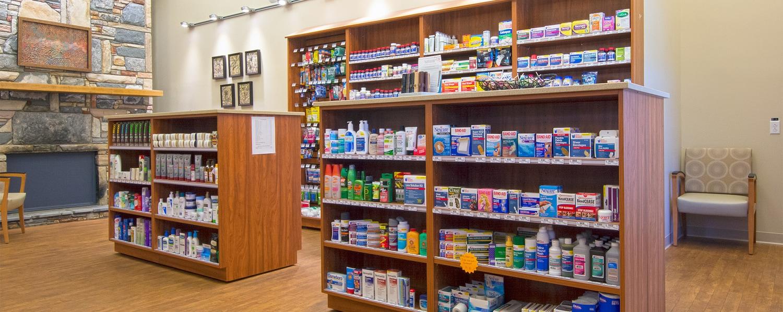 Upscale Pharmacy Refit Feels Like Home