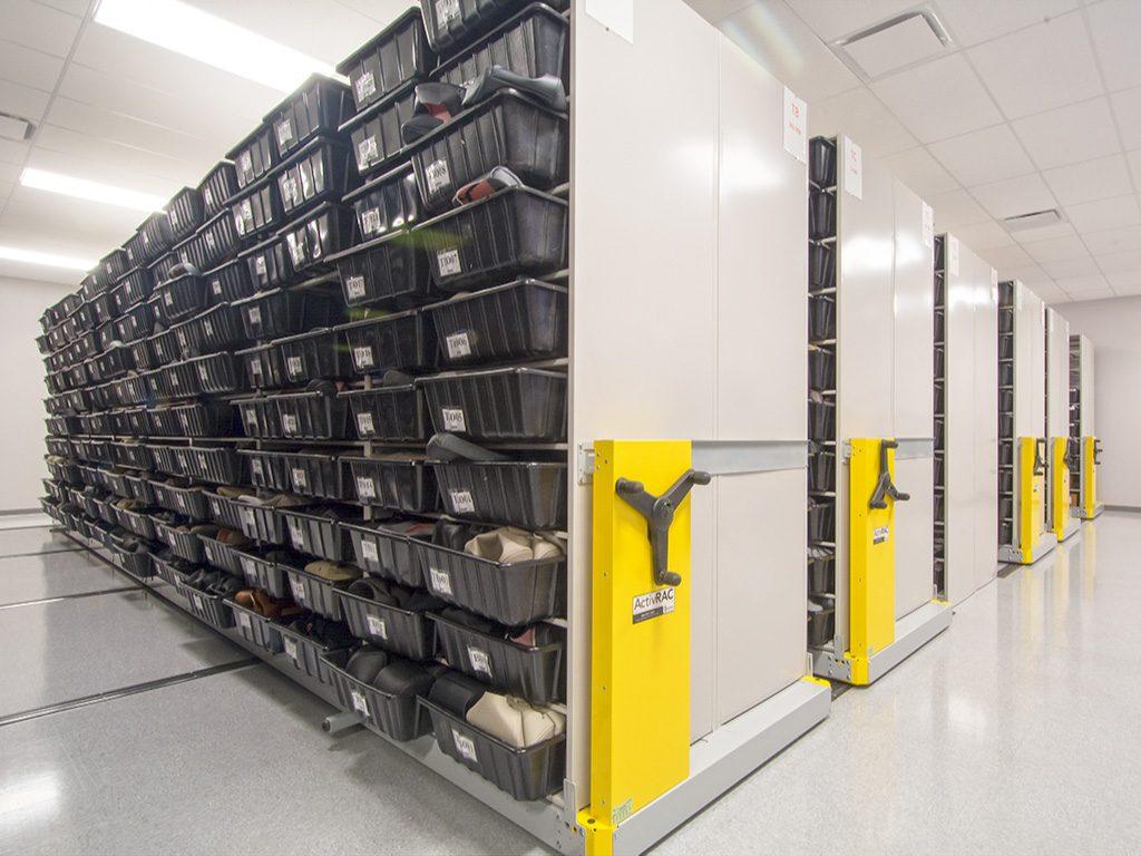 High Density Mobile Storage Solution Scores Big
