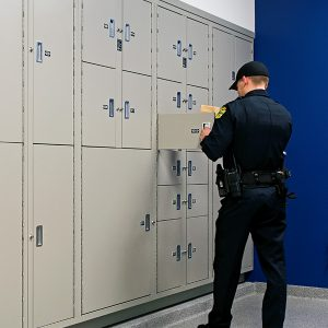 Orlando Police Department Evidence Storage Lockers