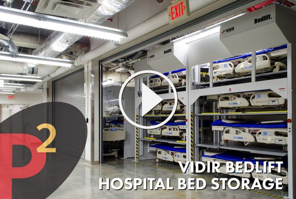 Vidir Bedlift Hospital Bed Storage