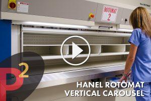 Hanel Rotomat Vertical Carousel