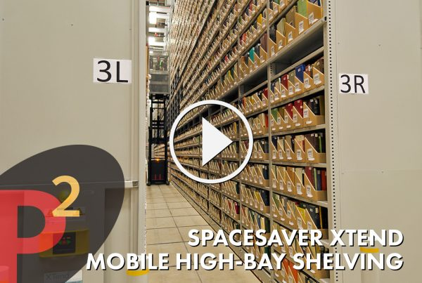 Spacesaver Xtend Mobile High Bay Shelving