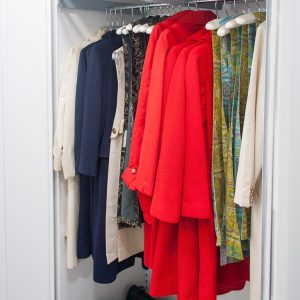Storage for Flight Attendant Uniforms
