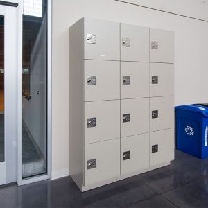Modular Laminate Lockers