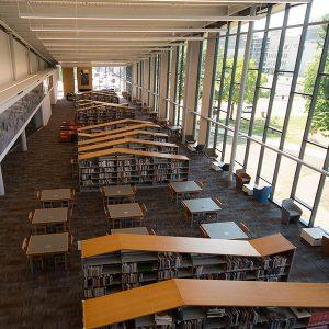 Dayton Library Shelving