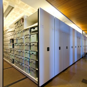 Library Archives Storage