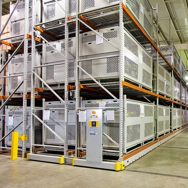 Industrial Warehouse Mobile Shelving