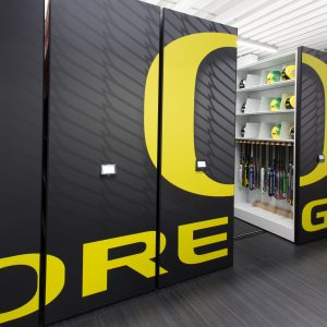 Athletic Equipment Storage System