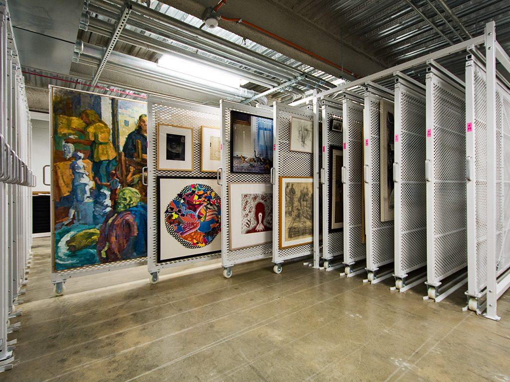 Wright State Art Storage