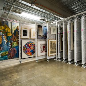 Wright State Art Storage