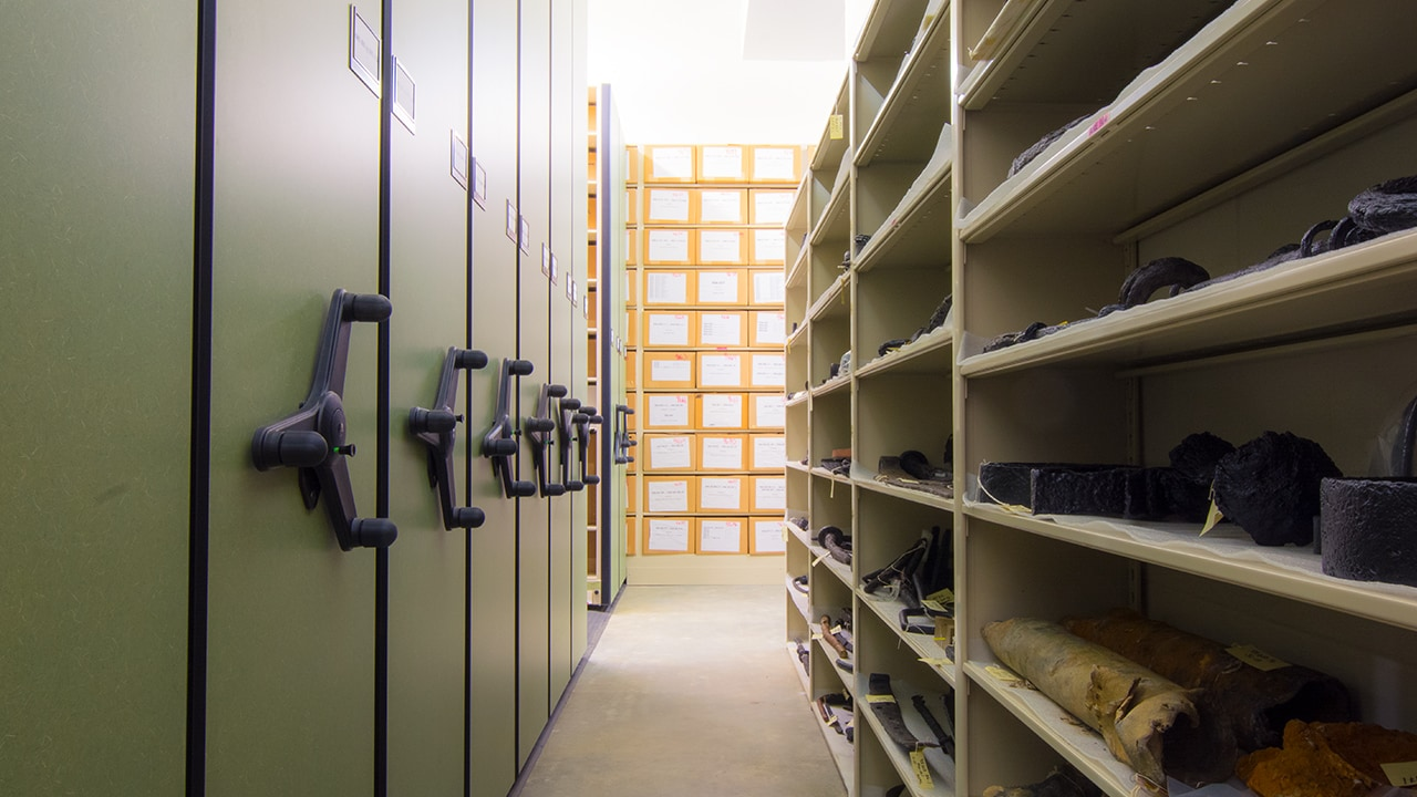 State of Florida's Bureau of Archaeological Research's Collections facility