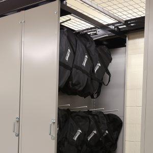 Compact-gear-bag-storage