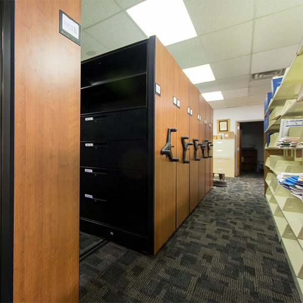 Library storage at the School of Medicine at Morehouse