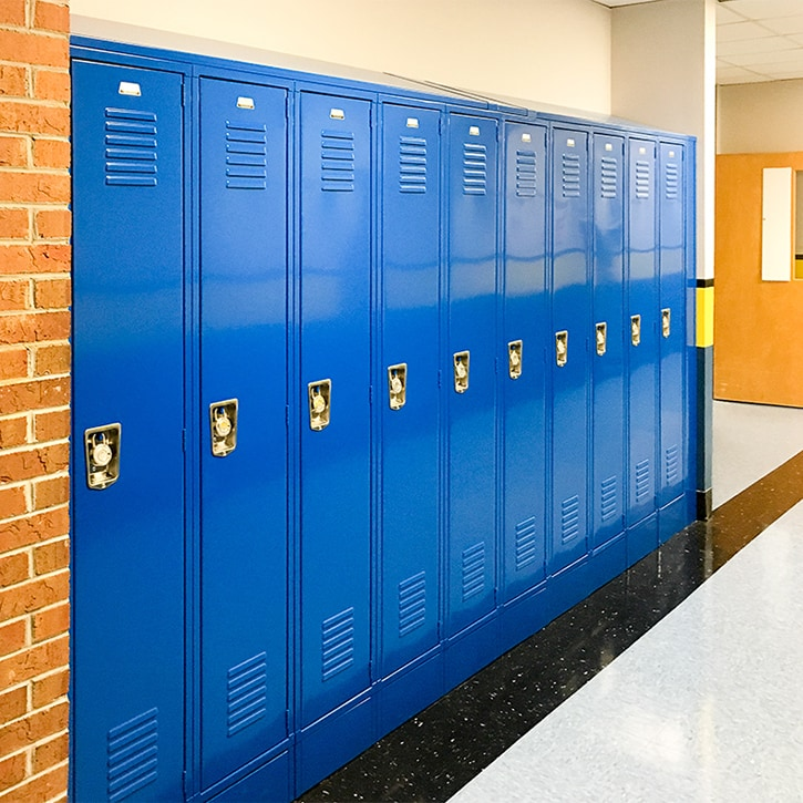 Durable Steel Lockers