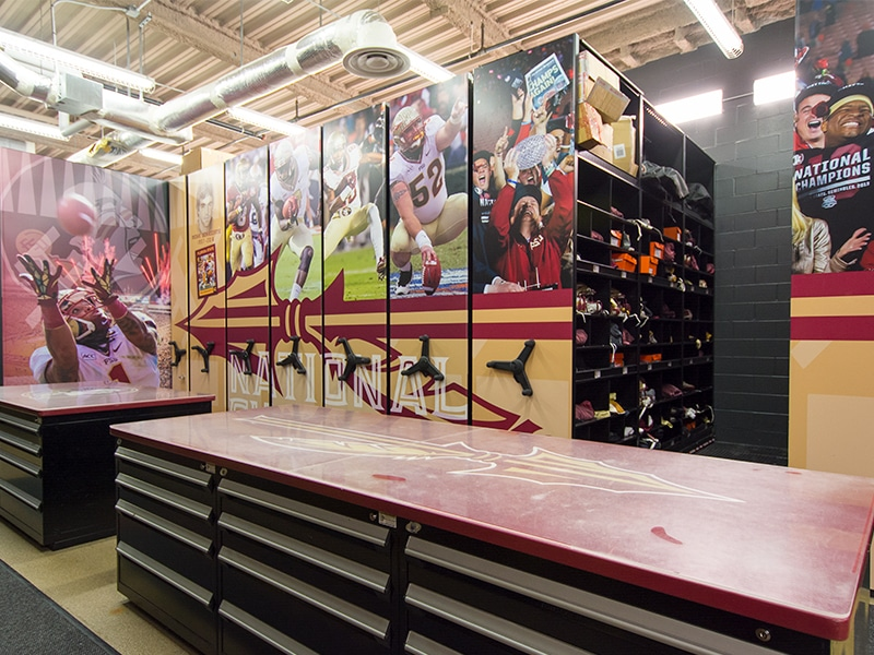 Florida State University: Football Equipment Storage