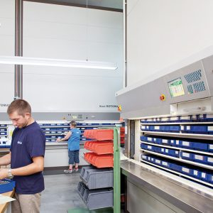 Rotomat for Warehouse Storage
