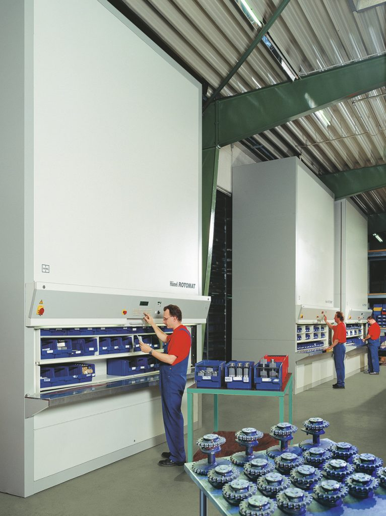 Rotomat Industrial Vertical Carousel Storage System