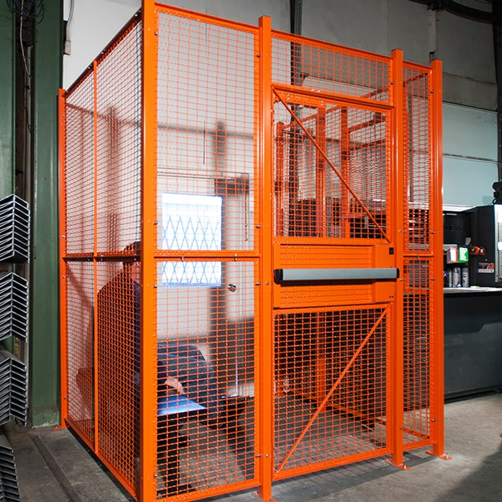 Wire Cages and Partitions