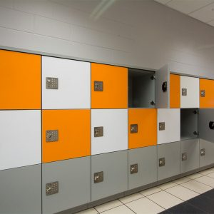 Temporary storage in gym with Day-use Lockers