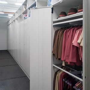 Delta Flight Museum Garment Storage