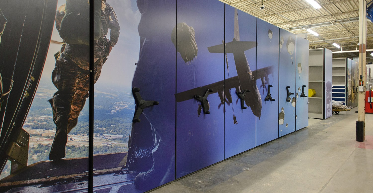 Compact Military Storage Solution Houses Gear at the Ready