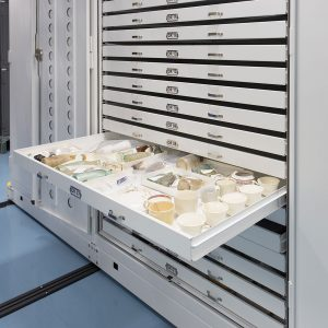 Preservation cabinets for museums