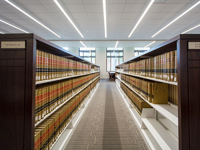 University of South Carolina School of Law: Library Storage