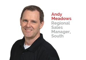 Andy Meadows, Regional Sales Manager, South | Patterson Pope