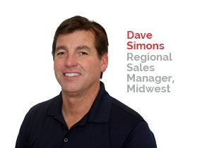Dave Simons, Regional Sales Manager, Midwest | Patterson Pope