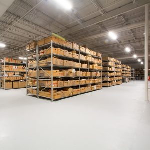 Warehouse storing long-term Evidence