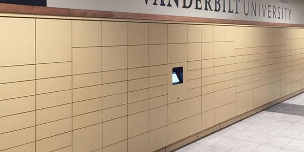 Smart Parcel Lockers for Universities