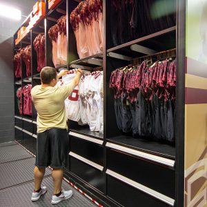 Football Uniform Storage at FSU
