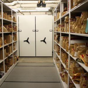 Bulk storage of property and evidence