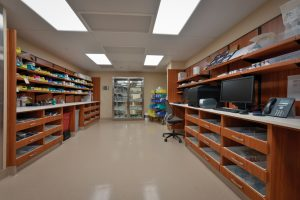 Modular casework for pharmacy storage