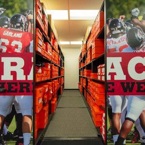 Atlanta Falcons Football Storage
