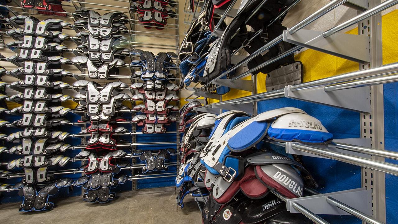 Nashville High School's New Athletic Storage Solution