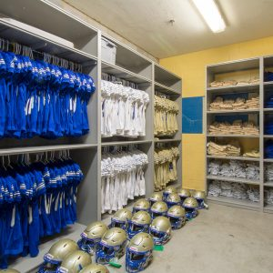 Shelving Stores High School Football Team Gear