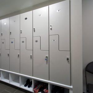 Z Lockers for Training Room
