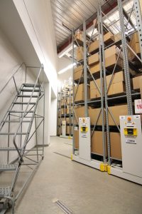 Industrial Mobile Shelving System