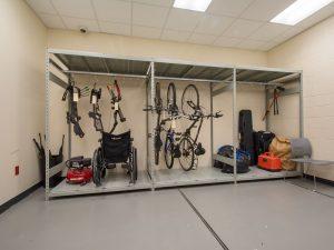 Evidence Room Bicycle Storage Racks